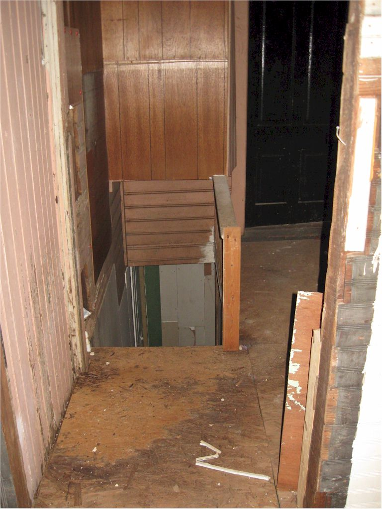 Center Hall / Basement Stairs