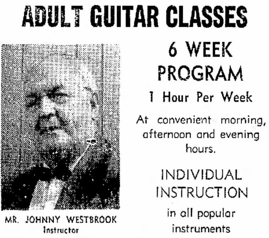 Johnny Westbrook