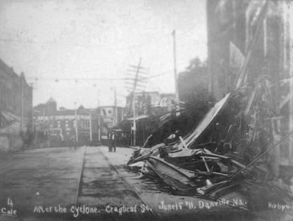 Cyclone from the Times Dispatch