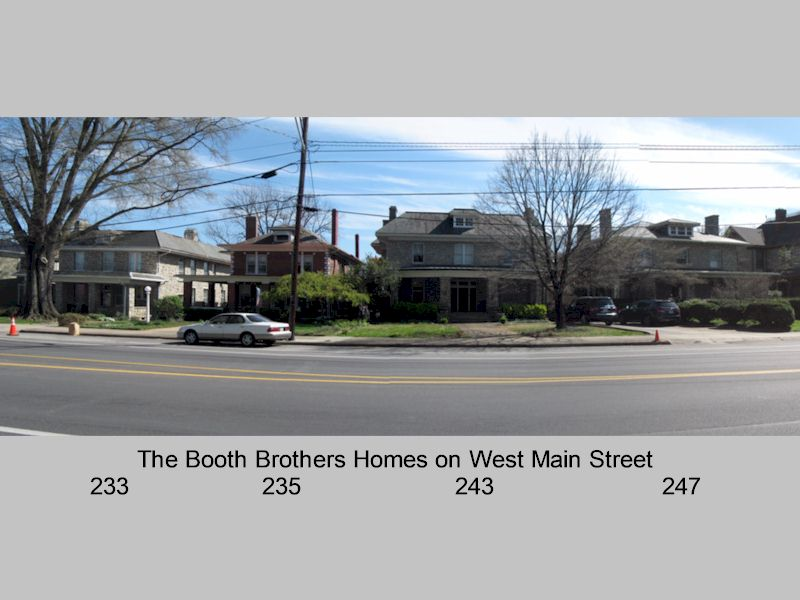 Old West End Tourist Homes