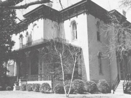 J. H. Schoolfield and His Home