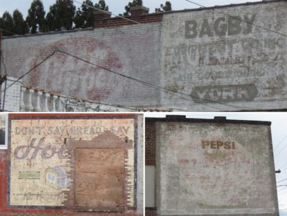 Ghost Signs at Five Forks