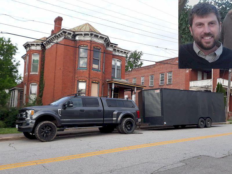 Luke Ramsey and the Clarke House