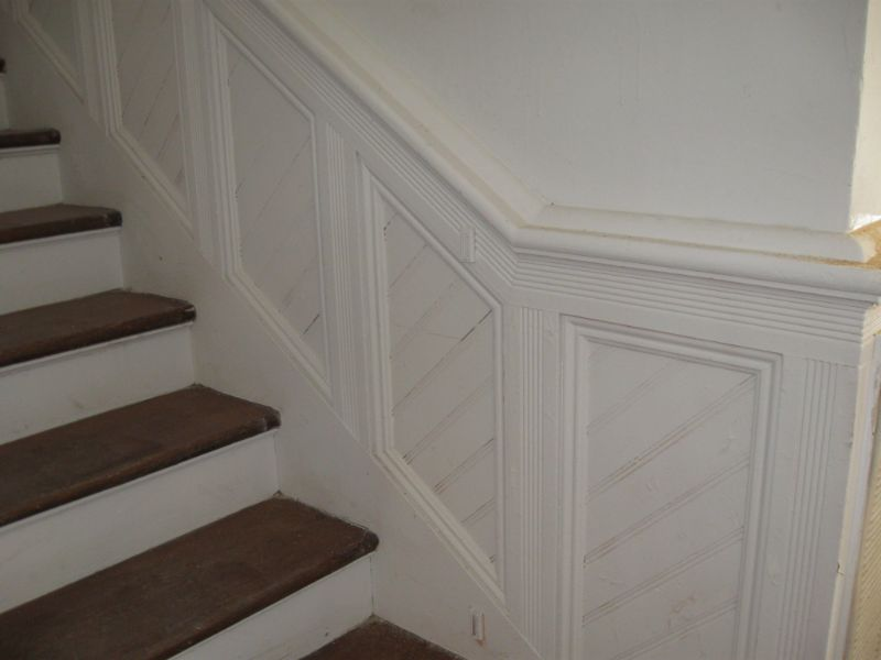 Wainscoting Entry & Staircase