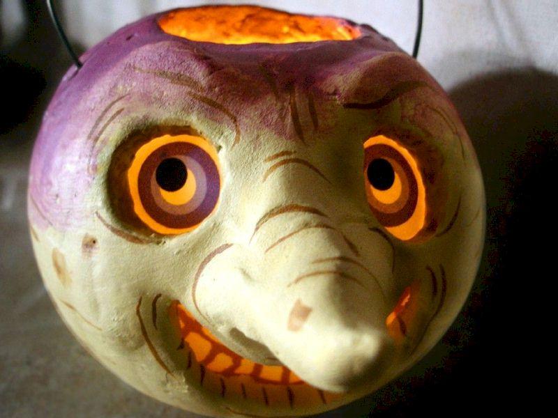 A Turnip Halloween